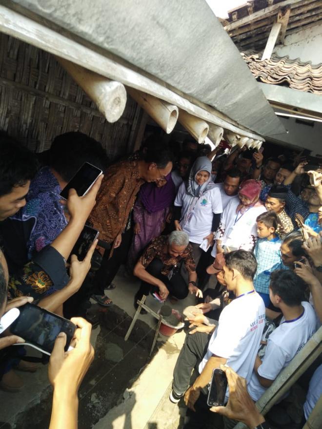 Image : Gubernur Jawa Tengah Hadir Di Desa Candiretno